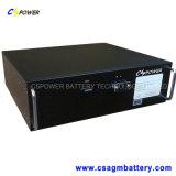 19 блок батарей шкафа LiFePO4 дюйма с BMS 24V 100ah
