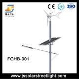 Luz de rua híbrida solar do vento do brilho elevado 50W 8m!