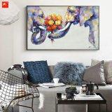 Olieverfschilderij van de Olifant van de Kunst van de Muur van het wild het Dierlijke