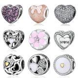 Bracelet Jóias Acessório Forma do Coração Prata 925 Beads Pandore Charm