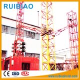 Elevador de construção de conversão de freqüência com gaiola dupla (SC200 / 200)