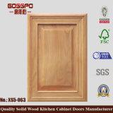 固体コア木製の食器棚のドア(GSP5-030)