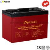 Couleur rouge de température élevée de Cspower de longue vie de batterie neuve de gel