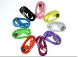 전화 부속 다채로운 PVC는 Samsung를 위한 8 Pin USB 케이블 데이터를 격리했다