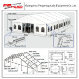 Überspannungs-Breite 5m Belüftung-Aluminiumlegierung-im Freienpartei-Ereignis-Zelt während aller Jahreszeiten