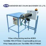 クッションの圧延および圧縮機械