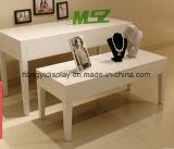 Mode d'affichage Table avec pied en métal pour Agencement de magasins
