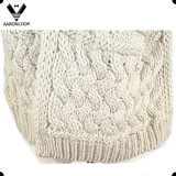 Inverno Warm Thick Crochet Cable Pattern Scarf