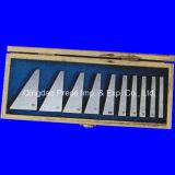 Комплект блока угла точности поставкы стальной, 12-PCS