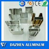 공장 가격 6063 T5 합금 알루미늄 밀어남 단면도 분말 코팅을%s 가진/양극 처리하는