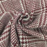Ceñidor de la golondrina con la tela de las lanas de la verificación