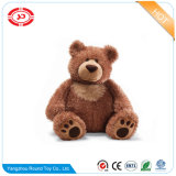 O luxuoso dos descansos de Gund encheu o brinquedo macio do urso da peluche de Brown