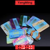 カジノチップを青銅色にするアクリルの水晶/ポーカー用のチップの王冠はCustommodel Ym-Cp003を缶詰にする