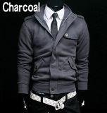 方法100%年の綿の立場カラー方法偶然の人の羊毛のジャケット