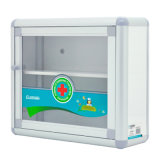 Le petit ménage Mur-Montent le cadre de mémoire multifonctionnel en aluminium de caisse de premiers soins