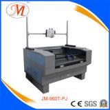 O profissional calç a máquina de estaca do laser do teste padrão com projetor desobstruído (JM-960T-PJ)