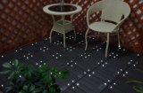 Facile à installer WPC Solar Light Interlocking Garden Floor