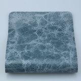 ソファー(F8002)のための光沢がある大理石模様をつけるパターンデザイン家具製造販売業総合的なPU PVC革