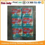 中国の安い工場価格の使い捨て可能なスリープの状態であるTeteの赤ん坊のおむつの製造業者