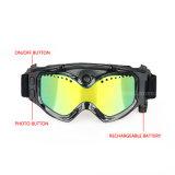 Cer-Kamera-Skifahren-oder Moto Schutzbrillen Sunglass HD Videokamera-Schnee-Schutzbrillen