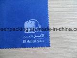 زرقاء [ميكروفيبر] بصريّة [كلنينغ كلوث] أبيض علامة تجاريّة