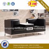 Dos asientos cubren el sofá de la oficina con cuero del visitante (HX-CS058)