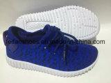 子供のサイズのキャンバスの注入の靴、Cutomizedの卸し売りスポーツの靴(FFCS111904)