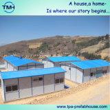 Casa prefabricada de dos pisos del bajo costo para el campo de trabajos forzados