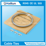 Ss Lx Banding Clip com Epoxy Coated Cable Tie