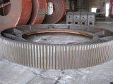 鉱山の企業またはセメントのプラントのロータリーキルンまたは製造所のための帯のギヤかピニオン