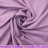 レインコートのために塗られる白の100%年のポリエステル繭紬