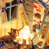 Conan木のおもちゃの人形の家の探偵