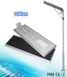 APP Smart Control 60W All-in One Solar LED Street Light