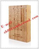 복숭아 꽃송이 코어 여송연 나무 상자