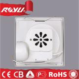 De Mini Kleine Ventilators met geringe geluidssterkte van de Uitlaat van de Badkamers Venster Opgezette