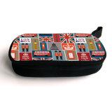 Caisse de luxe d'adaptateur de chargeur de sac de Samll Carring de logo fait sur commande pour des composantes électroniques