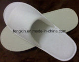 Logo de haute qualité Pringting White Disposable Hotel Slipper