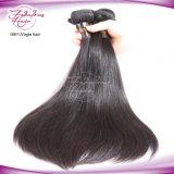 O cabelo humano reto malaio empacota o cabelo humano Remy do Virgin não processado de 100%
