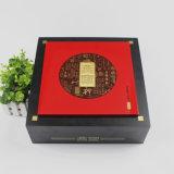 Boîtes-cadeau fabriquées à la main de empaquetage en bois luxueuses en bois solide de boîtes-cadeau