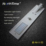 Lâmpada de rua solar direta do diodo emissor de luz do sensor de movimento da fábrica com Ce RoHS