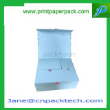 Cadre de empaquetage se pliant de papier rigide fait sur commande de cadeau de mariage de bijou de caisse d'emballage