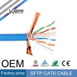 Cavo di lan di rame ad alta velocità di Sipu 24AWG SFTP CAT6