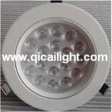 18X1w shell blanco LED Downlight
