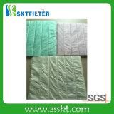 Media de filtro de bolso para el purificador del aire