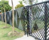 金網の塀の/Weldedの網の塀の庭の塀