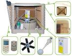 Ventilador axial evaporativo refrigerar de ar da água 18000CMH industrial grande nova do projeto da venda por atacado