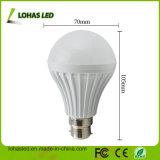 熱い販売B22 9WのプラスチックLED電球