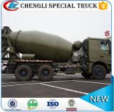 Caminhão do misturador concreto da bomba do caminhão do misturador de cimento do carregamento do auto
