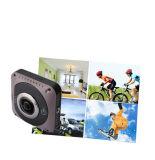 FHD 1080P Vorgangs-Kamera verdoppeln das 360 Grad-Objektiv Vr DV 360 panoramisch