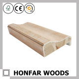 O melhor montante do aro da porta de madeira de venda do folheado para o projeto do hotel